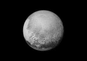 Pluto as seen by New Horizons on 13 July 2015